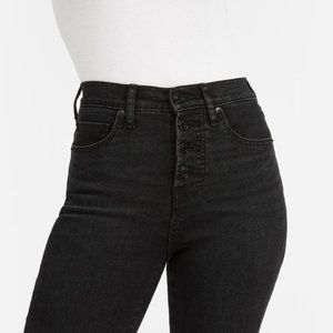 Everlane High-Rise Skinny Button Fly
